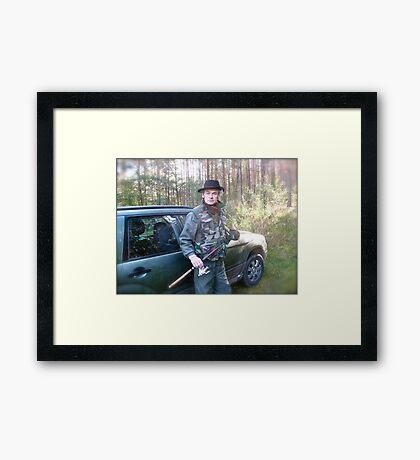 Brown Sugar Fishing Adventures . Poland, Subaru Team. by Peter. Framed Print