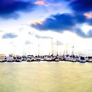 Chromatic Sunset - Hillarys Boat Harbour by Tyson Battersby