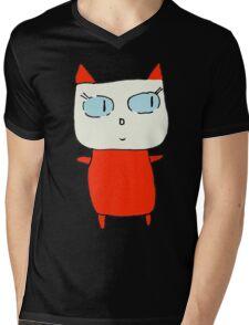 Beatrice the Cat Mens V-Neck T-Shirt