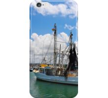 Moored Fishing Boat iPhone Case/Skin