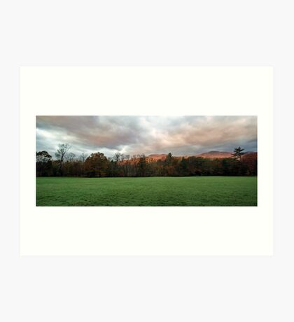 Autumn Landscape - Stow,  Maine Art Print