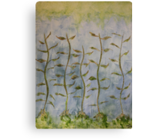 The Dancing Cabbage Weeds Canvas Print