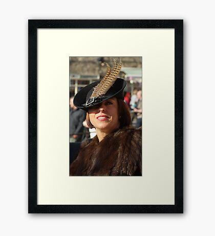 The Pickering War Weekend 2011 17 Framed Print