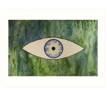 Sea Monster Eye Art Print