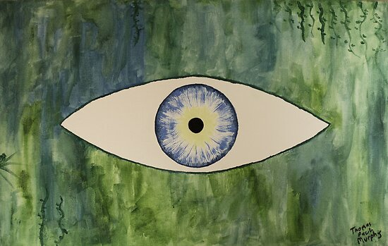 Sea Monster Eye by Thomas Murphy