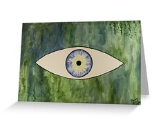 Sea Monster Eye Greeting Card