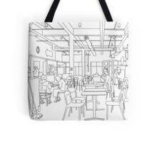 Industrial Bare-bones Diner Tote Bag