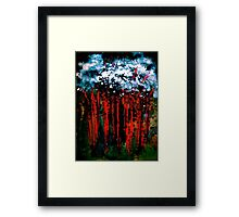 Deep In The Night Framed Print