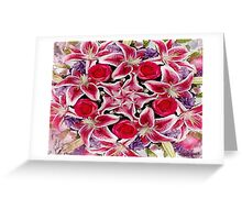 Lily Star Greeting Card