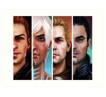 bioware boys  Art Print