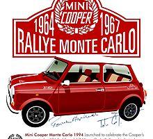 Classic 1994 Mini Cooper Monte Carlo by car2oonz