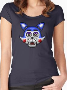 Five Nights at Candy's - Pixel art - Candy the Cat Women's Fitted Scoop T-Shirt