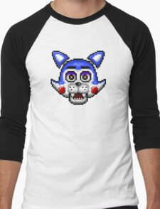 Five Nights at Candy's - Pixel art - Candy the Cat Men's Baseball ¾ T-Shirt