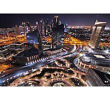 Downtown Dubai Photographic Print