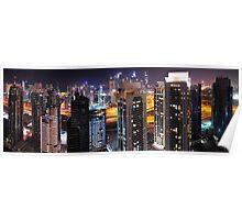 New Dubai Aerial Poster