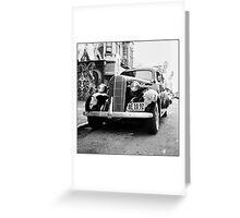 1936 Buick Greeting Card