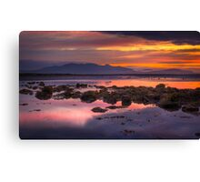Arran Sunset Canvas Print