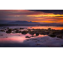 Arran Sunset Photographic Print