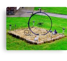 Minature Penny-Farthing Canvas Print