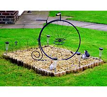 Minature Penny-Farthing Photographic Print