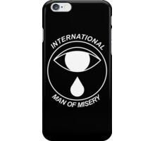 "Spector - Moth Boys ""IMM"" Black iPhone Case/Skin"