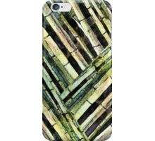 Bamboo Patterns I iPhone Case/Skin