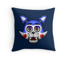 Five Nights at Candy's - Pixel art - Candy the Cat Throw Pillow