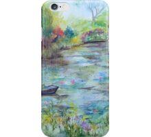 Monet's Garden of Dreams iPhone Case/Skin