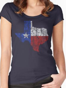 Texas Vintage Women's Fitted Scoop T-Shirt