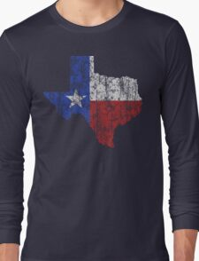 Texas Vintage Long Sleeve T-Shirt