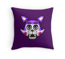 Five Nights at Candy's - Pixel art - Cindy the Kitty Throw Pillow