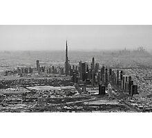 Dubai Aerial Photographic Print