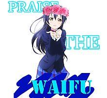 Umi - Praise the waifu Photographic Print