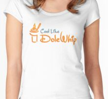 Cool Like Dole Whip Women's Fitted Scoop T-Shirt