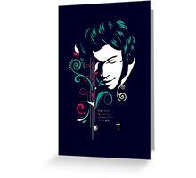 One Illustration - Harry Greeting Card