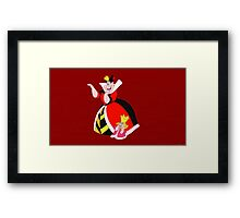 King and Queen of Hearts - Alice in Wonderland Framed Print