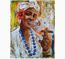 The lady from old Havana 5 Unisex T-Shirt