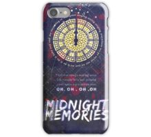 Midnight Memories iPhone Case/Skin