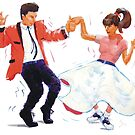 Classic Rock and Roll Jive Dancers by MikeJory