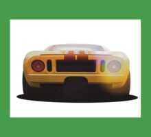 illustration of a classic GT 40 Kids Tee