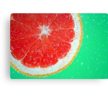 Fruity Bubbles Canvas Print