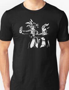 Goku Vegeta Z Fiction funny DBZ Dragon Ball Z T-Shirt