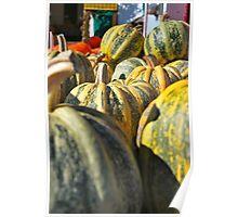 Pumpkin Green Poster