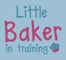 little baker in training Kids Tee