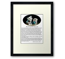 The Owl and the Pussy Cat Framed Print