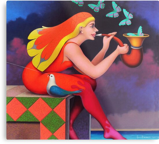 Melodia de mariposas by Jose De la Barra