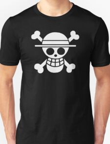 Onepiece  Straw Hat Crew Flag Luffy Pirates anime T-Shirt