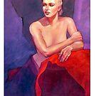 Portrait of Ingrid by Roz McQuillan
