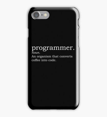 Definition - Programmer iPhone Case/Skin