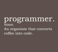 Definition - Programmer One Piece - Short Sleeve